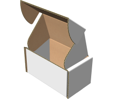 "Самосборная коробка 70х40х40 мм, Т-22 ""Е"" белый"