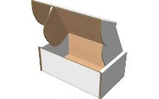 "Самосборная коробка 220x180x60 мм, Т-22 ""Е"" белый"