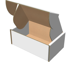 "Самосборная коробка 140х90х30 мм, Т-22 ""Е"" белый"