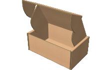 """Самосборная коробка 220x180x60 мм, Т-22 """"Е"""" бурый"""