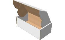 "Самосборная коробка 200x100x70 мм, Т-22 ""Е"" белый"