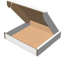 "Самосборная коробка 400х400х150 мм, Т-22 ""Е"" белый"
