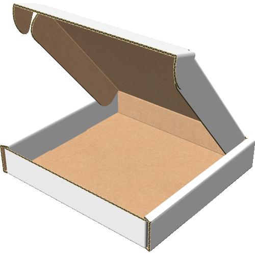 """Самосборная коробка 210х210х35 мм, Т-22 """"В"""" белый"""