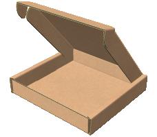 "Самосборная коробка 400х400х150 мм, Т-22 ""Е"" бурый"