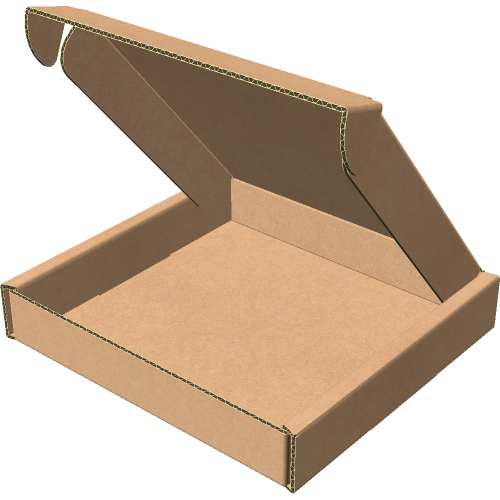 "Самосборная коробка 260х260х50 мм, Т-22 ""Е"" бурый"