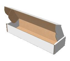 "Самосборная коробка 306х130х60 мм, Т-22 ""Е"" белый"