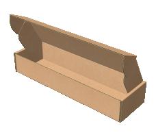 "Самосборная коробка 306х130х60 мм, Т-22 ""Е"" бурый"