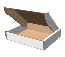 """Самосборная коробка 293х325х66 мм  мм, П-32 """"ЕВ"""" белый"""
