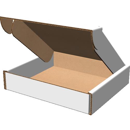 """Самосборная коробка 295х325х65 мм  мм, П-32 """"ЕВ"""" белый"""