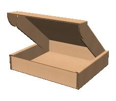 "Самосборная коробка 293х325х66 мм  мм, П-32 ""ЕВ"" бурый"