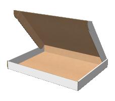 "Самосборная коробка 427х326х44 мм, Т-22 ""Е"" белый"