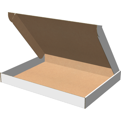 "Самосборная коробка 425х325х45 мм, Т-22 ""Е"" белый"