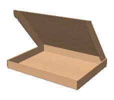 "Самосборная коробка 200х130х50 мм, Т-22 ""В"" бурый"