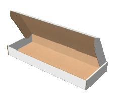 "Самосборная коробка 410x200x105 мм, Т-22 ""Е"" белый"