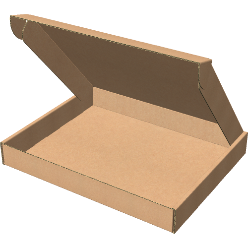 """Самосборная коробка 630x180x110 мм, Т-22 """"Е"""" бурый"""