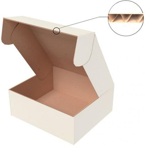 "Самосборная коробка 190x150x100 мм, Т-22 ""Е"" белый"