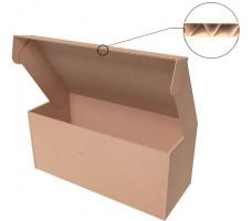"Самосборная коробка 302х98х72 мм, Т-22 ""Е"" бурый"