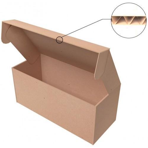 "Самосборная коробка 249х185х58 мм, Т-22 ""Е"" бурый"