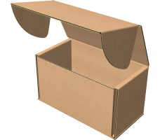 "Самосборная коробка 110х60х65 мм, Т-22 ""Е"" бурый"