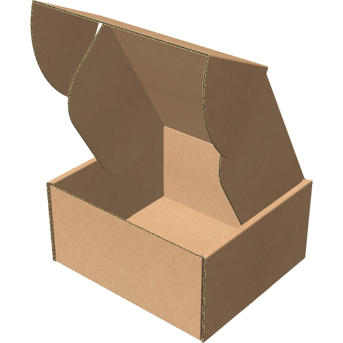"Самосборная коробка 142х132х72 мм, Т-22 ""Е"" бурый"