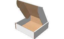 "Самосборная коробка 145х145х47 мм, Т-22 ""Е"" белый"