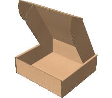 "Самосборная коробка 145х145х47 мм, Т-22 ""Е"" бурый"