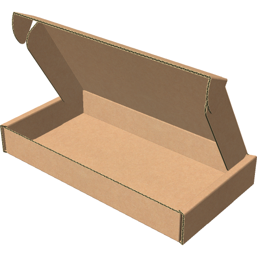 "Самосборная коробка 153х81х21 мм, Т-22 ""Е"" бурый"