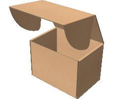 "Самосборная коробка 170х120х125 мм, Т-22 ""Е"" бурый"