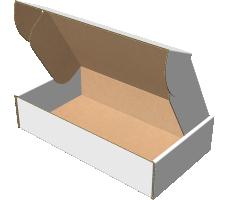 "Самосборная коробка 280х190х50 мм, Т-22 ""Е"" белый"