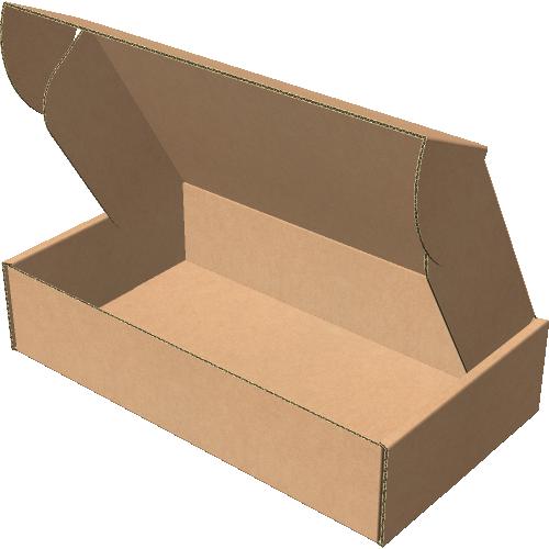 "Самосборная коробка 225х125х50 мм, Т-22 ""Е"" бурый"