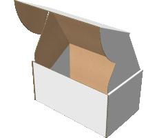 "Самосборная коробка 230х140х120 мм, Т-22 ""Е"" белый"