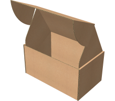 "Самосборная коробка 230х140х120 мм, Т-22 ""Е"" бурый"