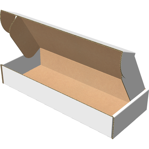 "Самосборная коробка 250х100х40 мм, Т-22 ""Е"" белый"