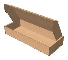 "Самосборная коробка 250х100х40 мм, Т-22 ""Е"" бурый"