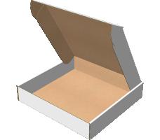 "Самосборная коробка 260х250х50 мм, Т-22 ""Е"" белый"