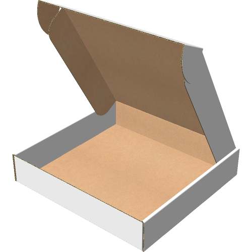 "Самосборная коробка 260х260х50 мм, Т-22 ""Е"" белый"