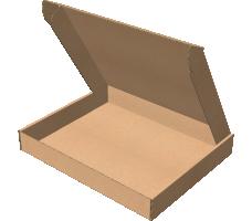 "Самосборная коробка 265х327х44 мм, Т-22 ""Е"" бурый"