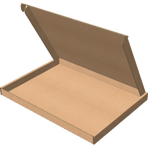 "Самосборная коробка 195х140х35 мм, Т-22 ""Е"" бурый"