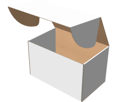 "Самосборная коробка 320х200х200 мм, Т-22 ""Е"" белый"