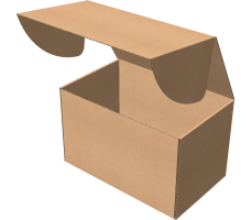 "Самосборная коробка 320х200х200 мм, Т-22 ""Е"" бурый"