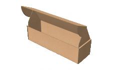 "Самосборная коробка 330х100х85 мм, Т-22 ""Е"" бурый"
