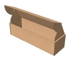 "Самосборная коробка 320х100х70 мм, Т-22 ""Е"" белый"