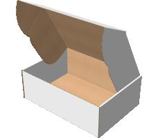 "Самосборная коробка 340х240х120 мм, Т-22 ""Е"" белый"
