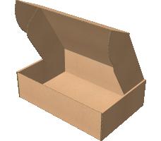 "Самосборная коробка 350х235х100 мм, Т-22 ""Е"" бурый"