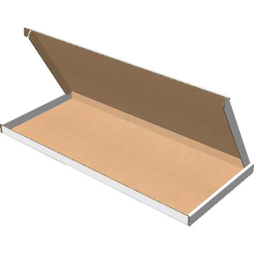 "Самосборная коробка 405х178х15 мм, Т-22 ""Е"" белый"