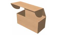 "Самосборная коробка 420х200х200 мм, Т-22 ""Е"" бурый"