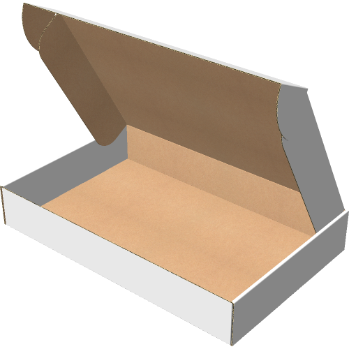 "Самосборная коробка 450х290х70 мм, Т-22 ""Е"" белый"