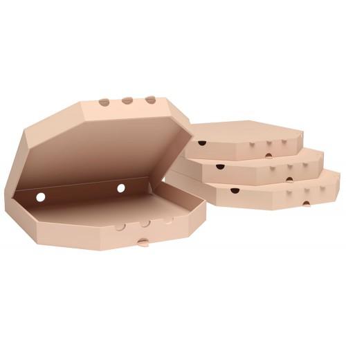 "Коробка для пиццы 300x300x35 мм Т-21 ""Е"" бурый"