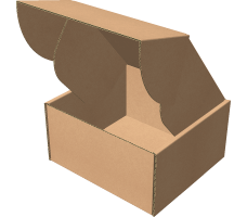 "Самосборная коробка 149х142х79 мм, Т-22 ""Е"" бурый"