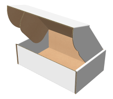 "Самосборная коробка 165х110х55 мм, Т-22 ""Е"" белый"
